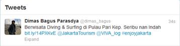 Tweet Kontes Kep Seribu