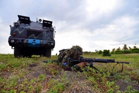 Formasi Perang Latgab 2014 8