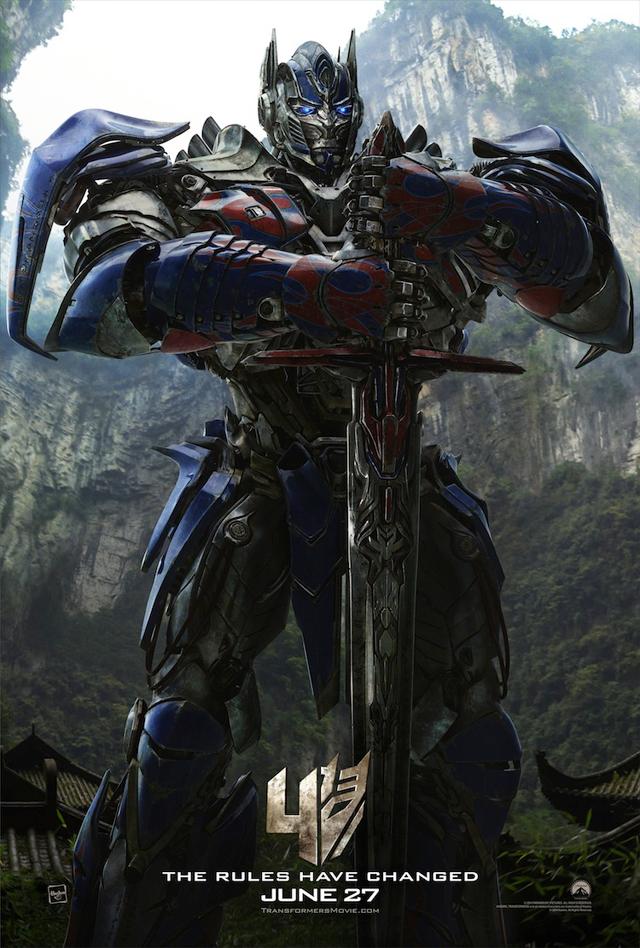 Transformers 4 Age Of Extinction Optimus Prime