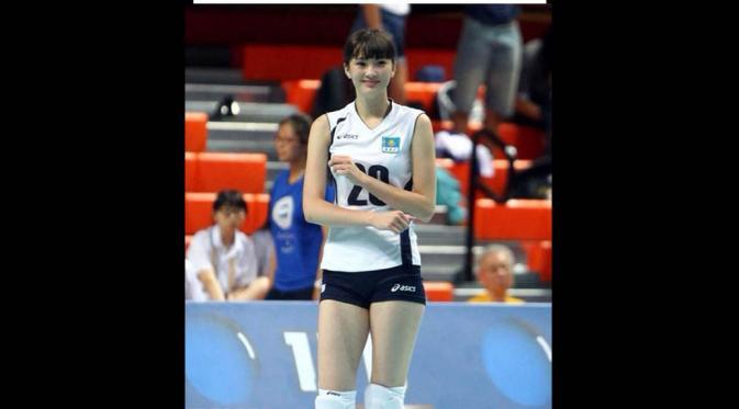 Atlet Voli Cantik Sabina Altynbekova 1