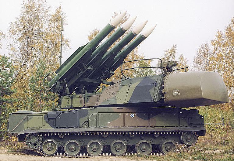 Rudal BUK 9K37 (Nato: SA-11 Gadfly)