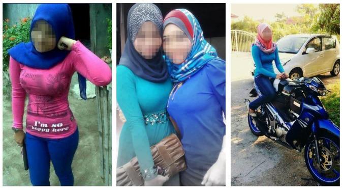 Jilboobs Hijab Yang Menonjolkan Bentuk Payudara