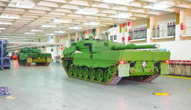 Kedatangan Tank Leopard & Marder 4