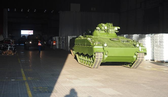 Kedatangan Tank Leopard & Marder 5