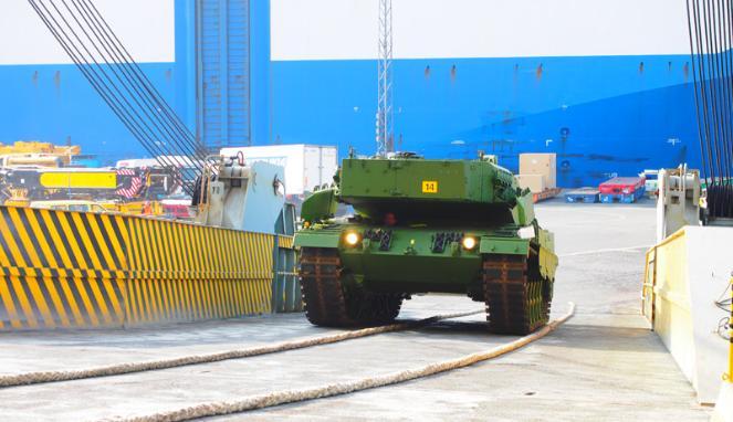 Kedatangan Tank Leopard & Marder 6