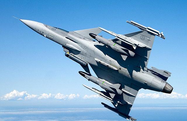 JAS 39 Gripen Swedia