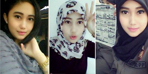 Nurul Habibah si Satpol PP Cantik