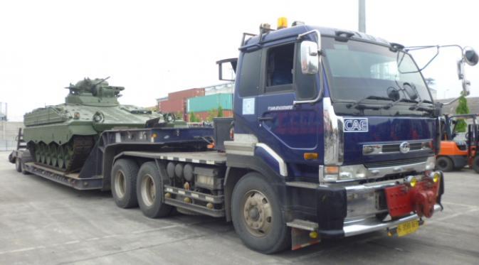 Tank Marder Tiba di Indonesia