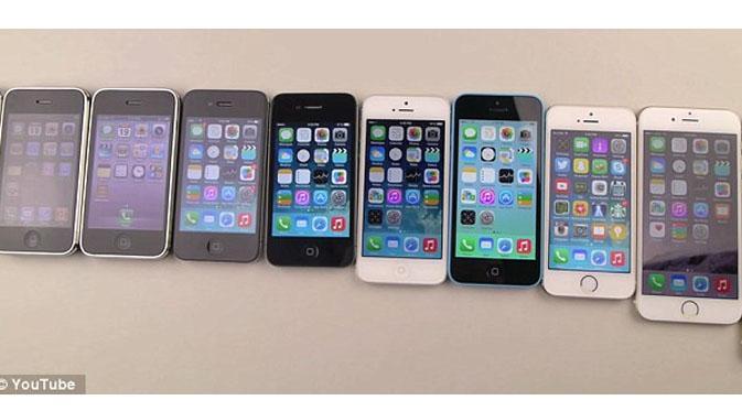iPhone 6 vs iPhone lama Jika dibanting