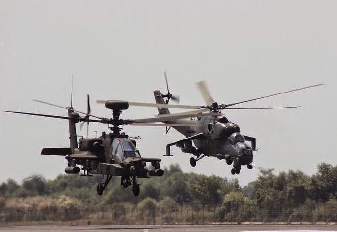 Mi 35 & Apache di Laut China Selatan