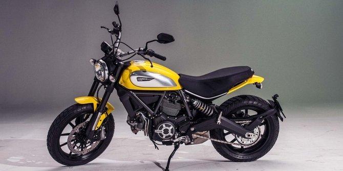 Ducati Scrambler 2015 di Indonesia Motorcycle Show 2014