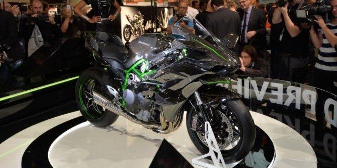 Kawasaki Ninja H2R di Indonesia Motorcycle Show 2014