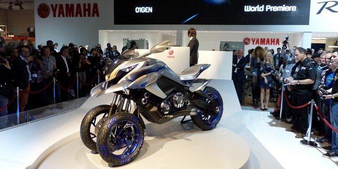 Yamaha 01GEN di Indonesia Motorcycle Show 2014