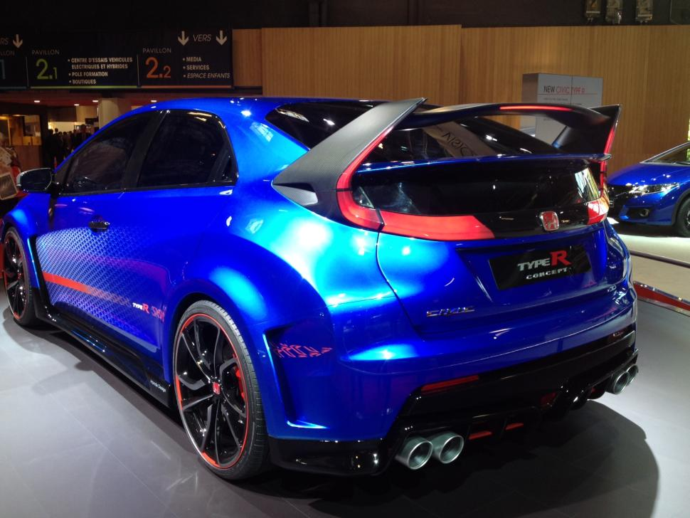 Honda Civic Type-R 2015 - 4