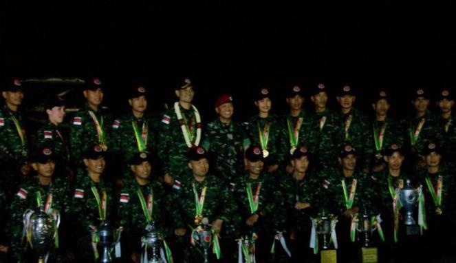 Juara Umum AARM 2014, TNI Sabet 29 Emas