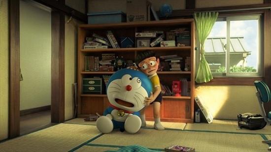 Doraemon dan Nobita di Film Bervisual 3D Stand By Me Doraemon