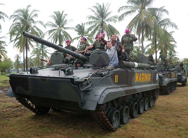 BMP 3F Marinir Indonesia