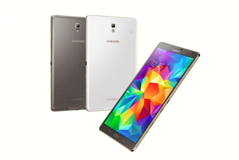 Samsung Galaxy Tab S 8.4 LTE Titanium Bronze & Dazzling White