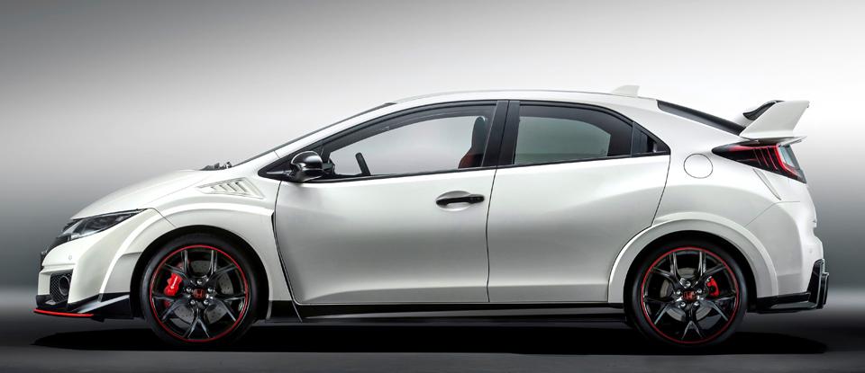 Honda Civic Type R 2015 Putih, Mobil Honda Terganas