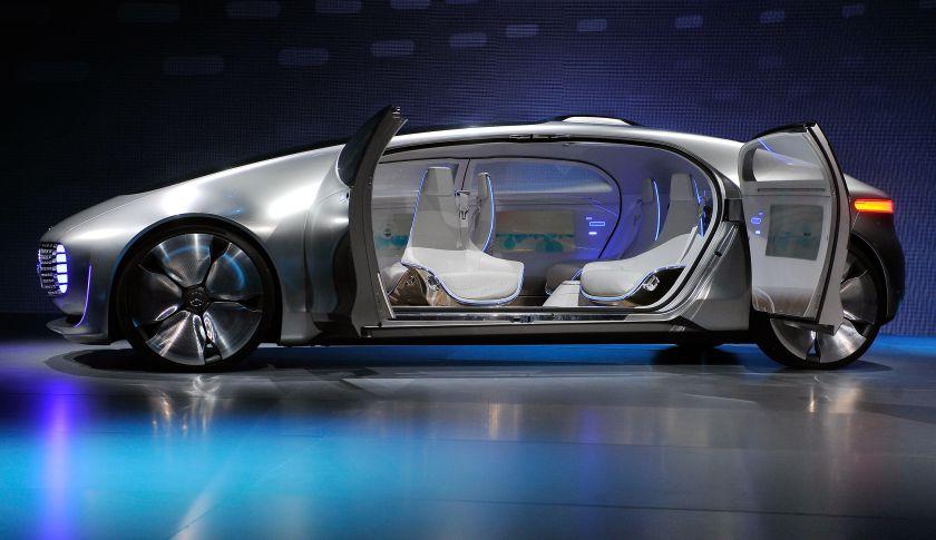 Mercedes Benz F015 Mobil Autopilot