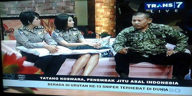 Sniper Terbaik TNI Peltu Tatang Koswara Meninggal Usai Syuting Acara Hitam Putih