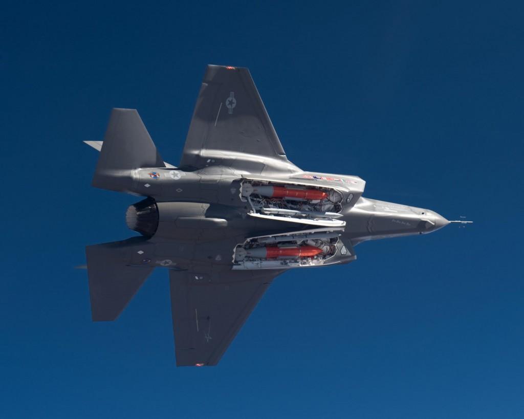 Tempat Penyimpanan Rudal Tersembunyi F-35 Lightning II