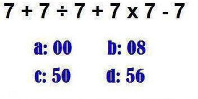 Berapa Hasil dari Perhitungan Soal Matematika Ini