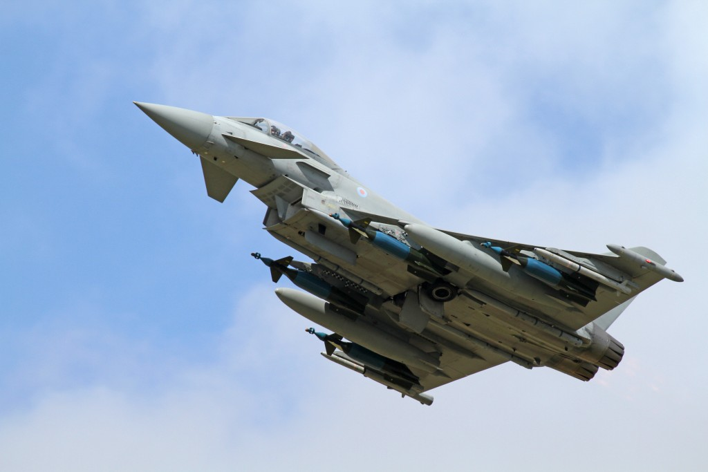 Eurofighter Typhoon Full Armament