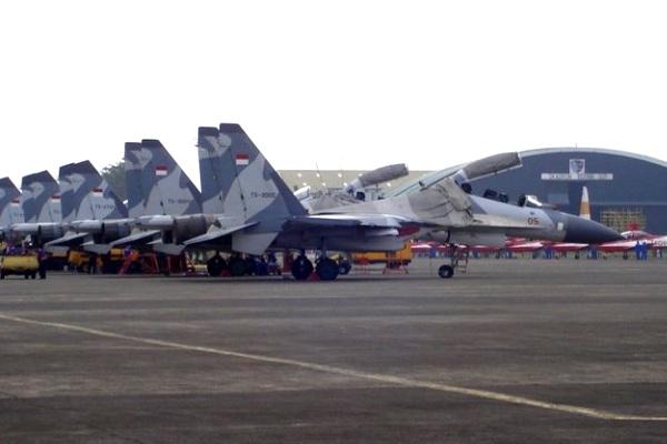 Deretan Pesawat Tempur Sukhoi TNI AU