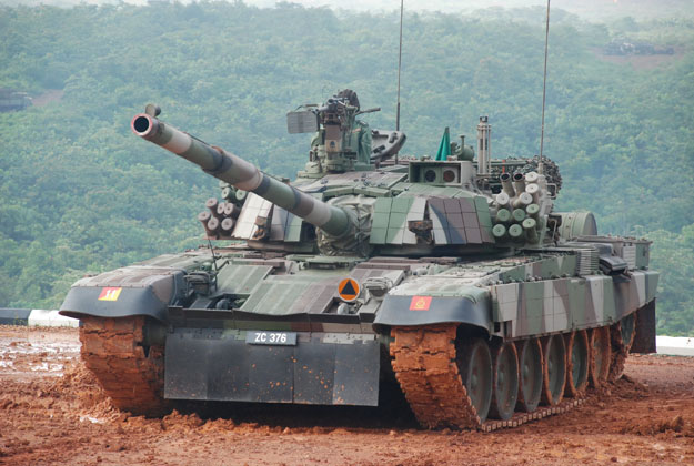 Main Battle Tank PT-91M Pendekar Malaysia