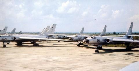 Deretan Pesawat Bomber TU-16 TNI AU