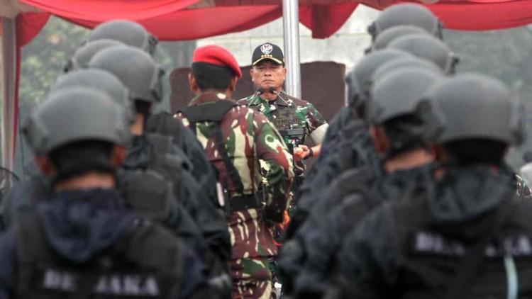 Pergantian Panglima TNI Moeldoko