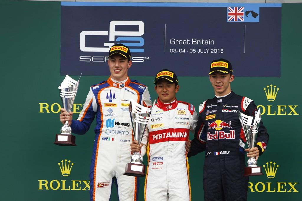 Rio Haryanto Menang GP2 Inggris - RioHaryantoDotCom