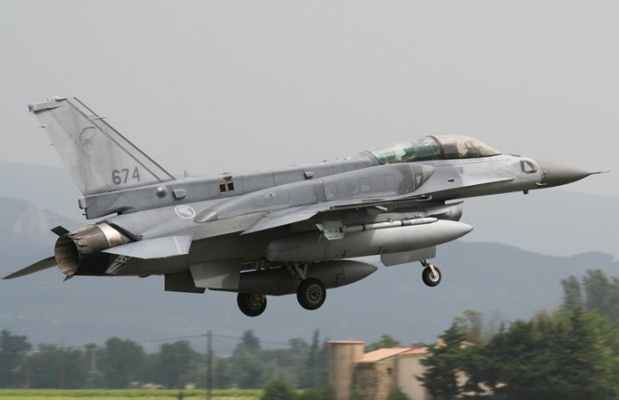 F-16 RSAF (Angkatan Udara Singapura)