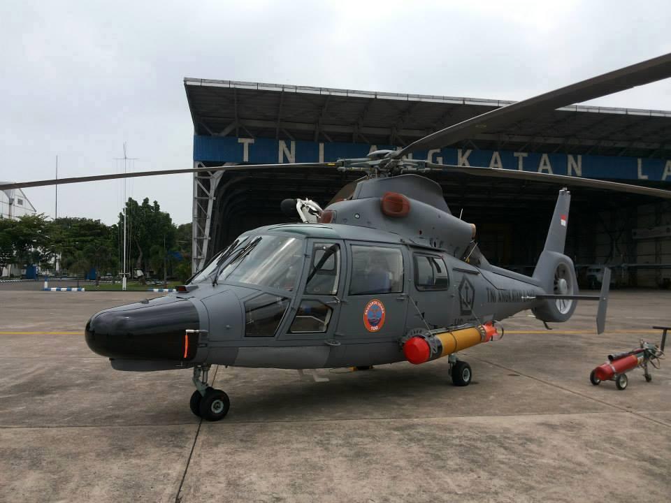 Helikopter Panther TNI AL