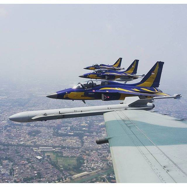 Flypass T-50i Persiapan HUT ke-70 TNI - Foto by Christiyanto -Kraken-