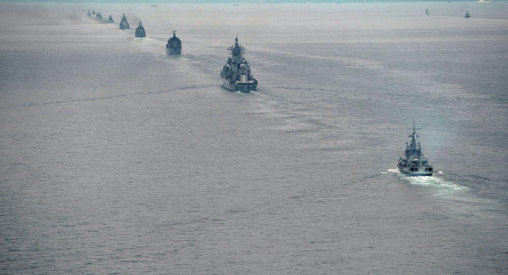 Latihan Multilateral Naval Exercise Komodo 2014 di Batam