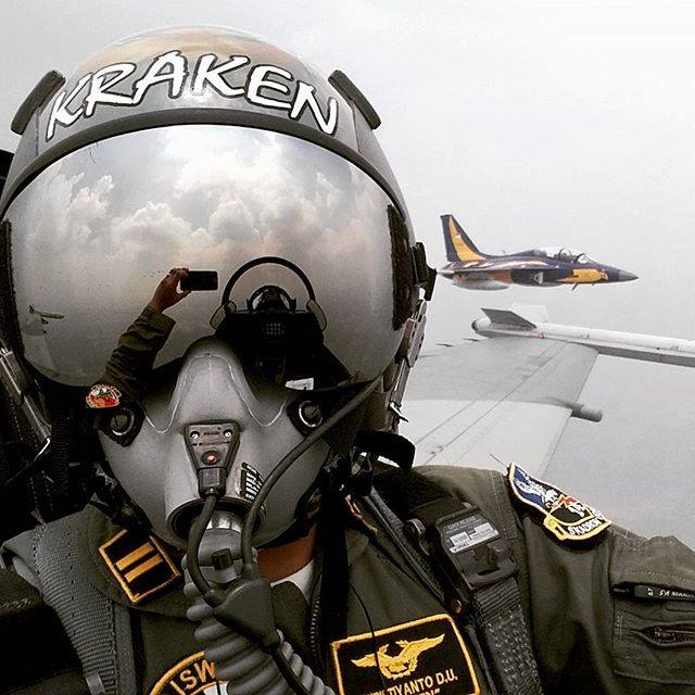 Selfie from T-50i TNI AU - Foto by Christiyanto -Kraken-