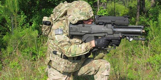 The Punisher, Pelontar Roket XM25 Tentara AS