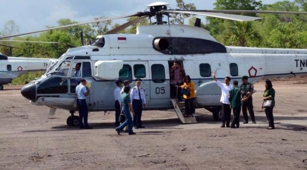 Helikopter Presiden Jokowi