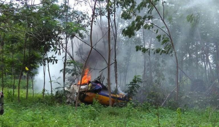 Kondisi Pesawat T-50i Golden Eagle TNI AU yang Jatuh