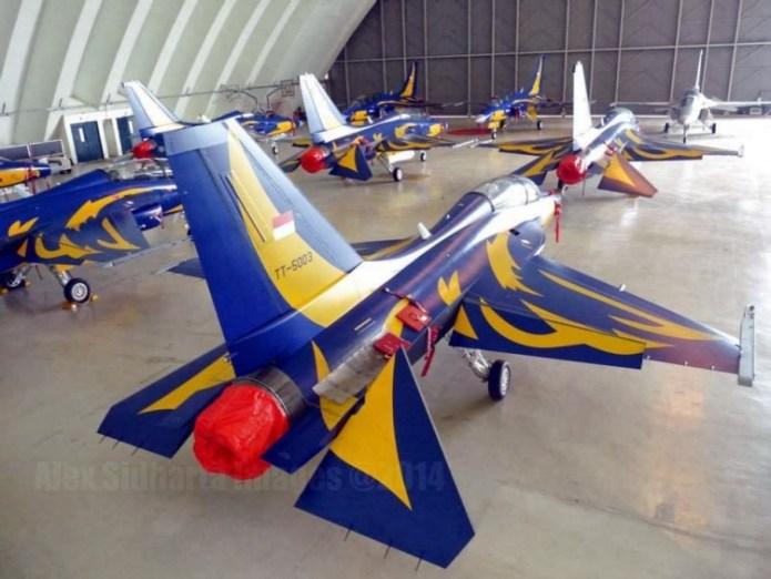 Pesawat Tempur T-50i Golden Eagle TNI AU