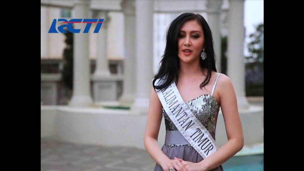Puty Revita Finalis Miss Indonesia 2014 asal Kalimantan Timur