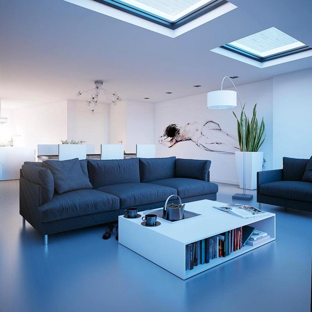 Ruang Keluarga Skylight Ambience