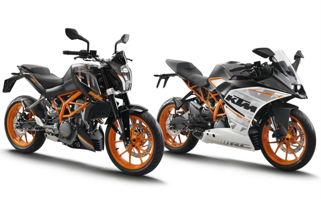 KTM Duke dan KTM RC 250