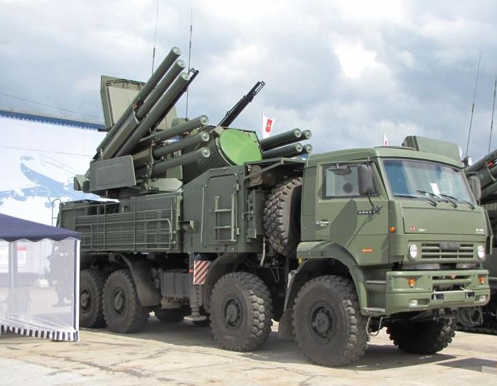 Sistem Pertahanan Udara Pantsir S1 Rusia - RyskmosaikDOTnet