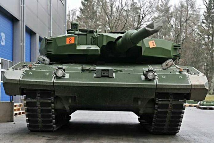 Wujud Main Battle Tank Leopard 2RI untuk TNI AD
