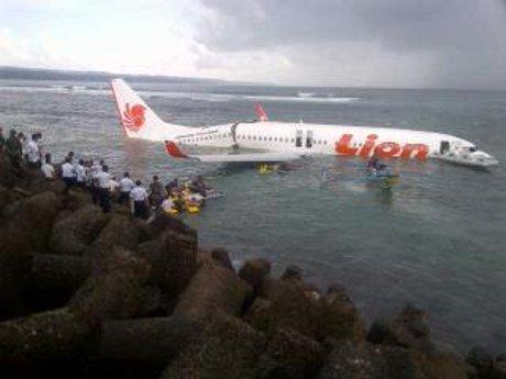 Lion Air Jatuh di Bali