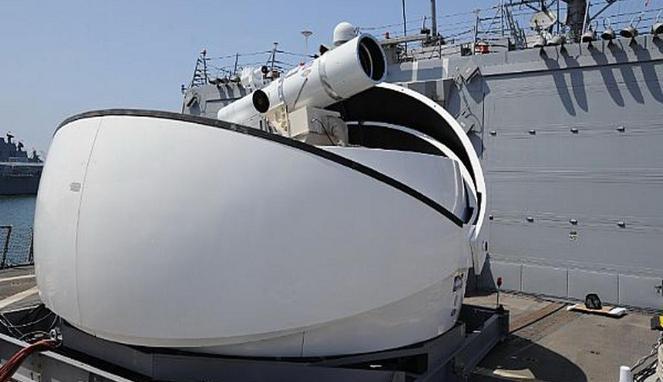 Senjata Laser LAWS AS