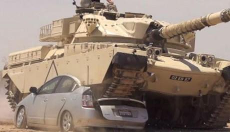 Toyota Prius Di Gilas Tank